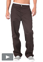CARHARTT Simple Pant Denver Pes/Cot Twilll 8,5oz tobacco rinsed