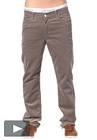 CARHARTT Slam Pant lakewood corduroy silver stone washed