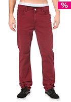 CARHARTT Slam Pant Wichita Twill cranberry craft washed