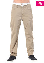 CARHARTT Slam Pant Wichita Twill leather craft washed