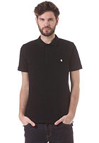 CARHARTT Slim Fit S/S Polo Shirt black/white