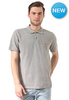 CARHARTT Slim Fit S/S Polo Shirt grey heather/florida