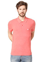 CARHARTT Slim Fit S/S Polo Shirt mars heather/white