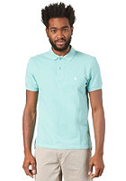 CARHARTT Slim Fit S/S Polo Shirt polynesia/white