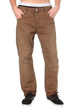 CARHARTT Slim Pant Lousiana Color Denim pecan vintage washed 