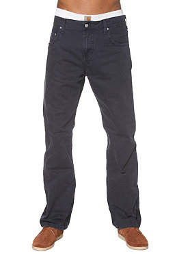 CARHARTT Slim Pant navy mill washed