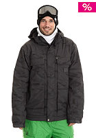 CARHARTT Slush Jacket blacksmith/black allover print