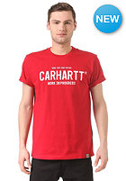 CARHARTT Soon Script S/S T-Shirt cornel/white