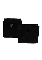 CARHARTT Standard Crew Neck S/S Double Pack T-Shirt black