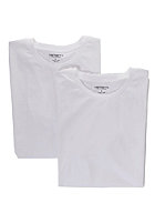 CARHARTT Standard Crew Neck S/S Double Pack T-Shirt white