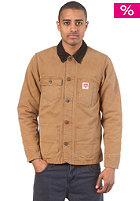 CARHARTT State Coat Jacket brown rude washed