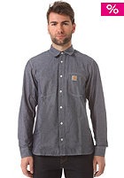 CARHARTT State L/S Shirt blue penny rinsed