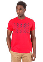 CARHARTT States S/S T-Shirt red/navy