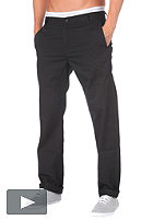 CARHARTT Station Pant cot/pes durango twill black rinsed 