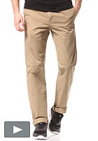 CARHARTT Station Pant durango cot/poly twill 7,5oz leather rinsed