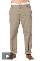 CARHARTT Station Pant Durango Twill rubble rinsed
