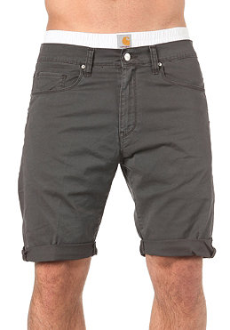 CARHARTT Swell Bermuda Shorts Wichita Twill Asphalt craft washed