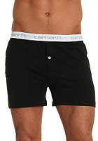 CARHARTT Trunk Shorts black white/grey