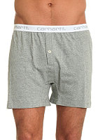 CARHARTT Trunk Shorts Boxershorts grey heather/white white/gr