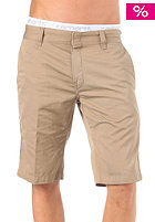 CARHARTT Unit Bermuda Shorts Cortez Leather rinsed
