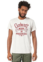 CARHARTT W.I.P. S/S T-Shirt light grey heather/multicolor