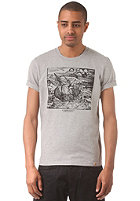 CARHARTT Waterloo S/S T-Shirt grey heather/black