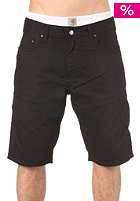 CARHARTT Western Bermuda Shorts Alabama Color Denim black rinsed