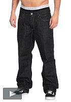 CARHARTT Western Pant Rancho Cotton Denim 13,5oz blue rinsed