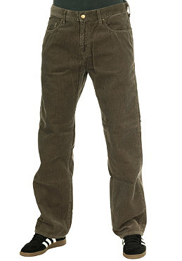 CARHARTT Western Pant Seattle Cot. Corduroy dirt stone washed