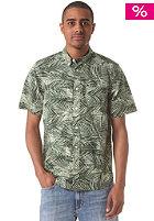 Cayman S/S Shirt planet palm print, rinsed