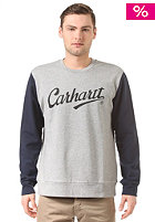 CARHARTT WIP League grey heather/duke blue/black