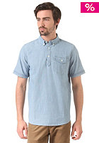 CARHARTT WIP Roy S/S Shirt indigo bleached