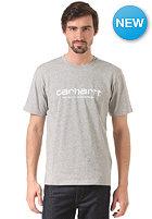 CARHARTT Wip Script grey heather/white