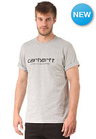 CARHARTT Wip Script S/S T-Shirt grey heather/black