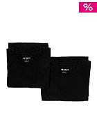 Standard Crew Neck Double Pack S/S T-Shirt black