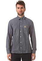 CARHARTT WIP State L/S blue penny rinsed