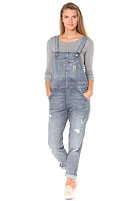 CARHARTT WIP Womens X' Bib Overall blue fight washed