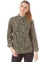 CARHARTT WIP Womens X' Fuller L/S camo stain green rinsed