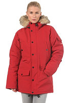 CARHARTT Womens Anchorage Parka deep red/ broken white