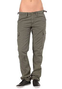 CARHARTT Womens Aviation Pant Columbia Ripstop leaf stone washed