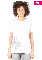 Womens C Dots S/S T-Shirt white/indigo