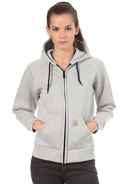 CARHARTT Womens Car-Lux Hooded Thermo Sweat grey heather/ grey