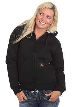 CARHARTT Womens Car-Lux Thermo Hooded Sweat black/grey