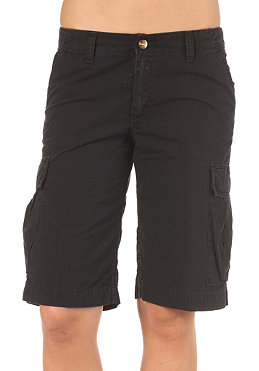 CARHARTT Womens Cargo Bermuda Short Columbia Ripstop black stone washed