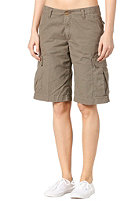 CARHARTT Womens   Cargo Bermuda Short Columbia Ripstop moss
