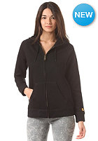CARHARTT Womens Chase Hooded Zip Sweat black