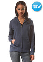 CARHARTT Womens Chase Hooded Zip Sweat blue penny