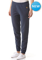 CARHARTT Womens Chase Sweat Pant blue penny
