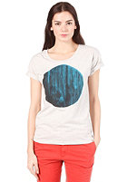 CARHARTT Womens Circlewood S/S T-Shirt light grey heather/multicolor
