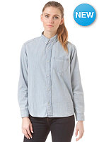 CARHARTT Womens Civil L/S Shirt blue stone bleached